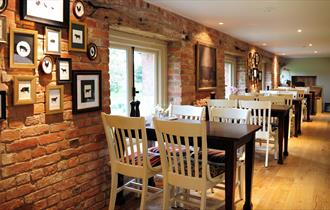 The Granary Grill dining area