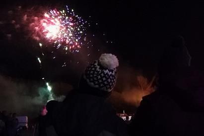 Knypersley Cricket Club Bonfire & Fireworks Display