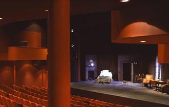 Inside the Garrick theatre