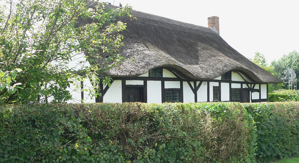 Izaak Walton Cottage from the road