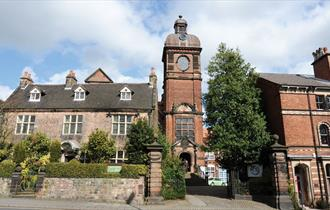 Staffordshire Moorlands Tourist Information Centre is housed in the historic Nicholson Institute in Leek, Staffordshire.