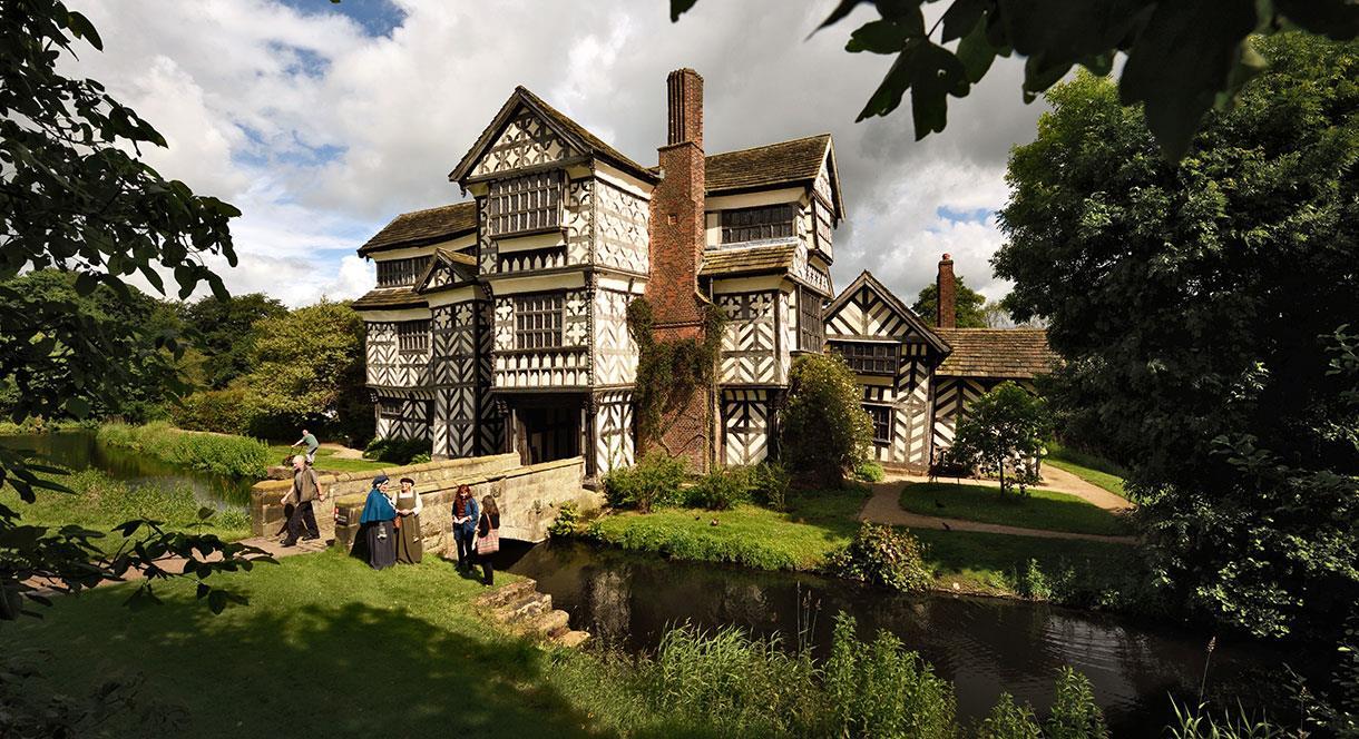 Little Moreton Hall copyright National Trust Images-John Millar