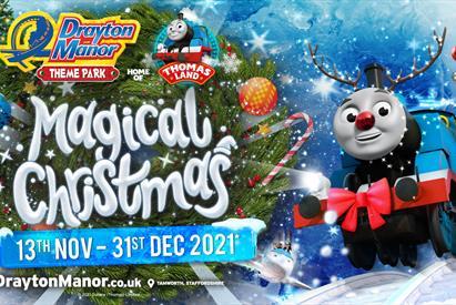 Magical Christmas at Drayton Manor Resort