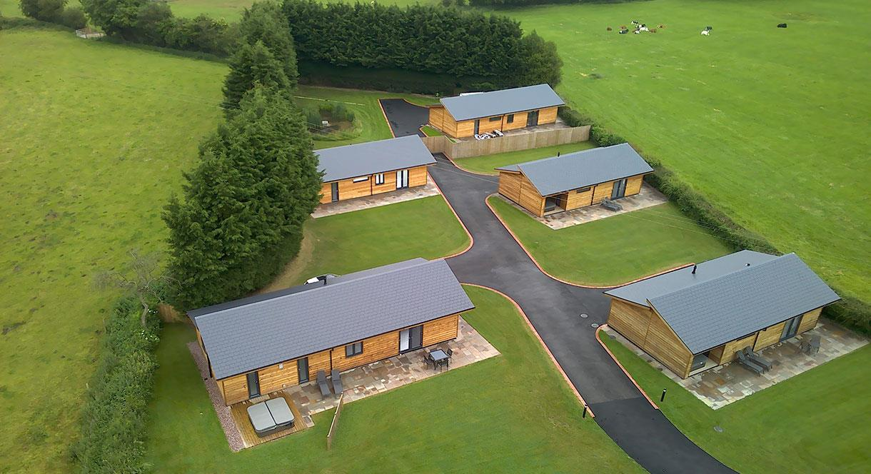 Mayfield Snuggery, Staffordshire has 5 luxury lodges sleeping 2 - 4 guests
