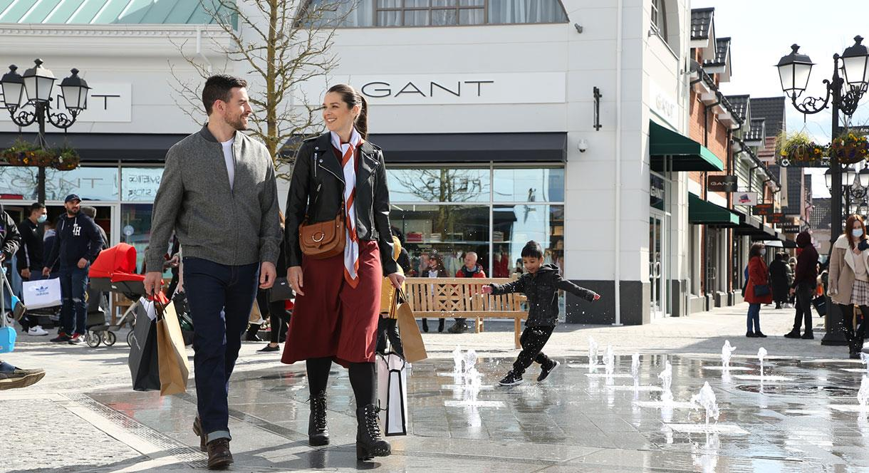 Enjoy at great day out shopping at the McArthurGlen Designer Outlet West Midlands in Cannock, Staffordshire