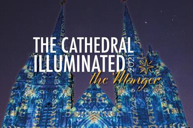 Cathedral Illuminated - The Manger at Lichfield Cathedral