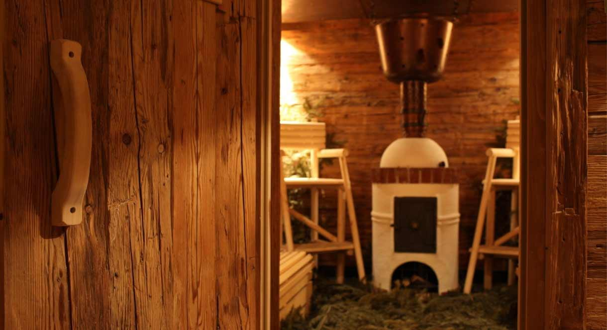 Farmer's Sauna at the Mill Wheel Spa