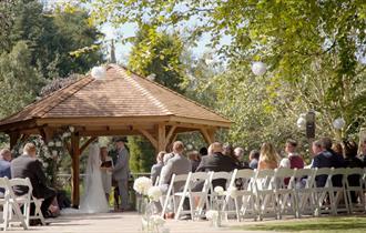 Outside Wedding Venue