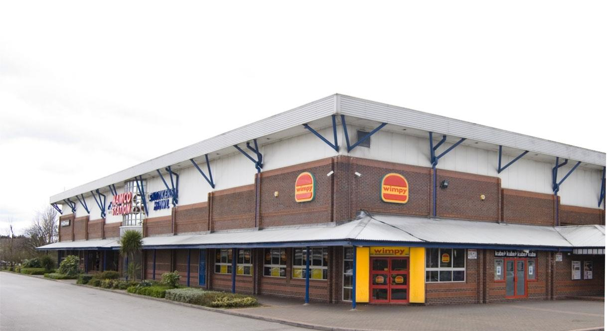 Outside view of Namco Funscape Tamworth