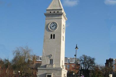 The Nicholson War Memorial, Leek Town Centre