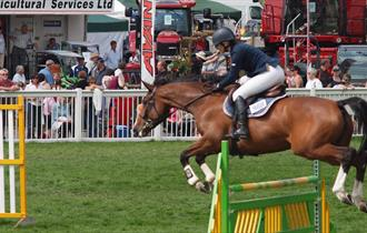 Show Jumping at the County Show