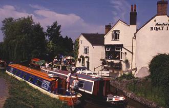Shropshire Union Canal near Gnosall
