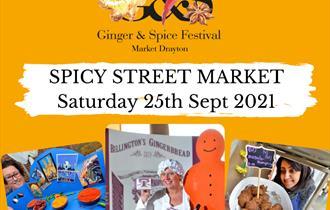 Ginger and Spice Festival 25th September 2021