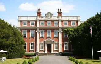 Front entrance of Swinfen Hall Hotel