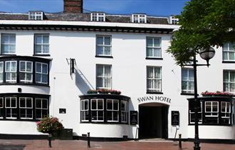 Front of the Swan Hotel