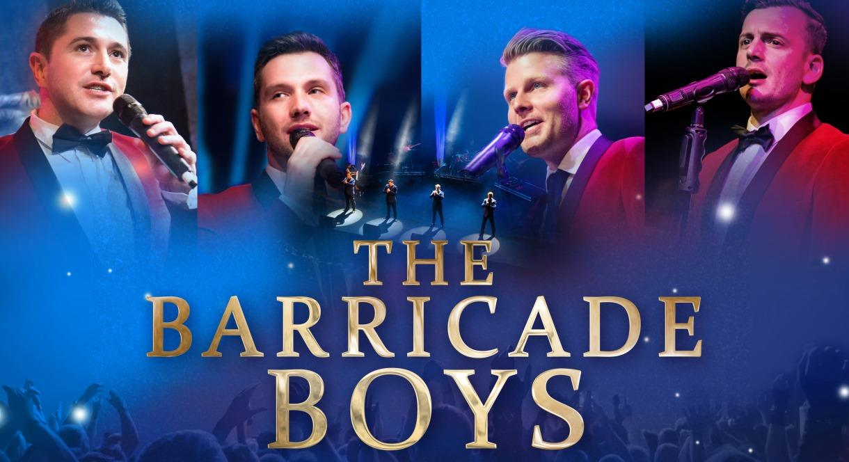 A night at the musicals with The Barricade Boys at Adventure Farm, Staffordshire