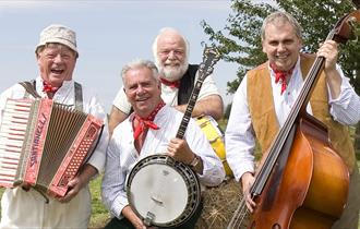 The Wurzels will be performing at Adventure Farm this Summer