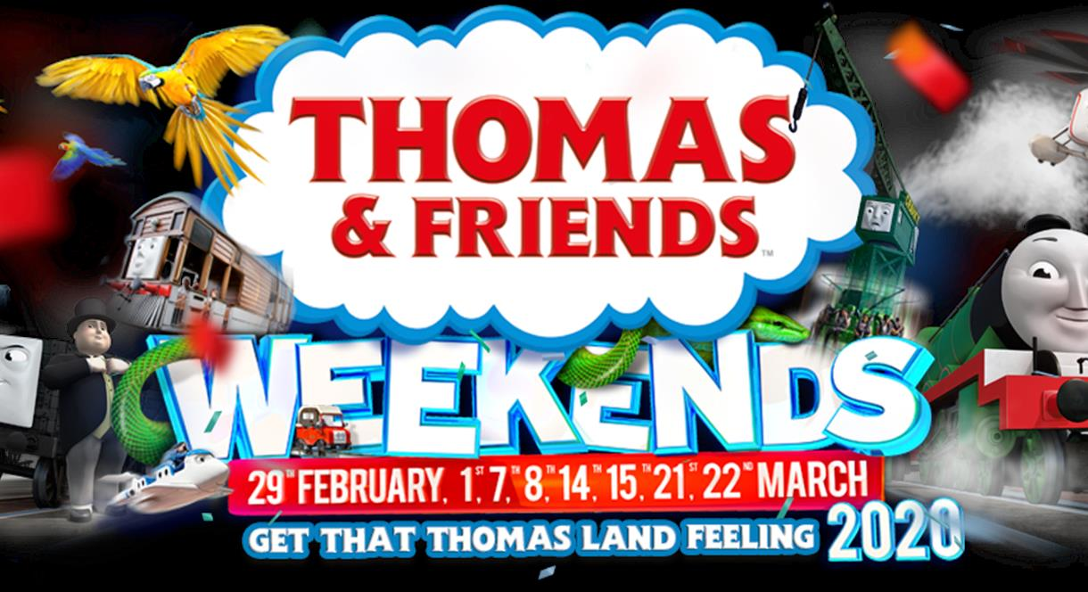 March Weekends @ Drayton Manor Park