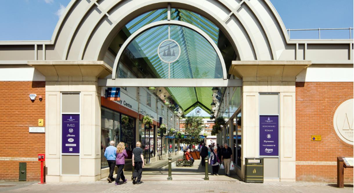 Three Spires Shopping Centre