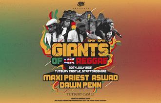 Giants of Reggae poster