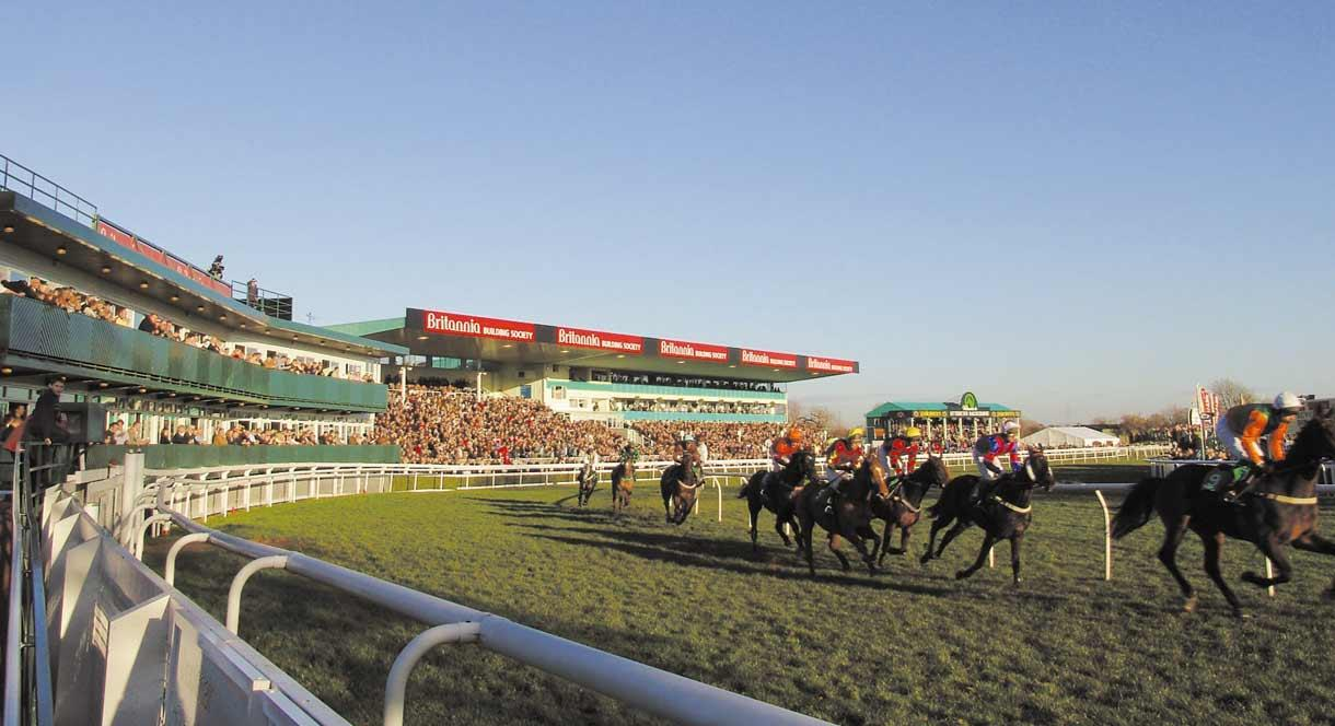 Uttoxeter Racecourse hosts 25 race days each year.
