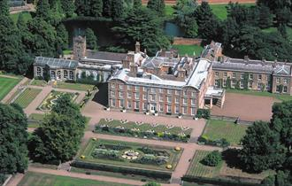 Weston Park is an historic house and garden located on the Staffordshire and Shropshire border.