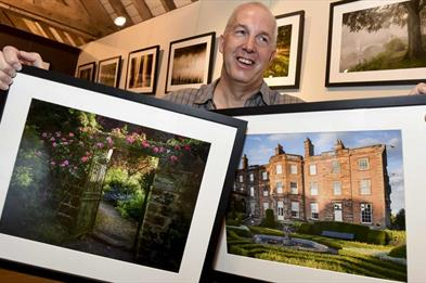 Graham Colling - provided a masterclass on photography