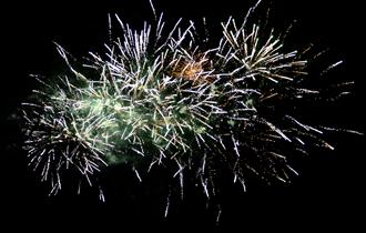 Witness a spectacular fireworks display at Weston Park