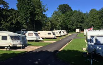 Hales Hall Caravan & Camping Site