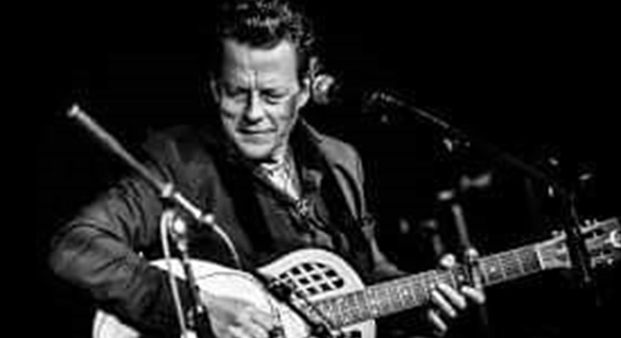 Ian Siegal at Leek Blues and Americana Festival