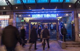 Regent Theatre in Stoke-on-Trent's Cultural Quarter