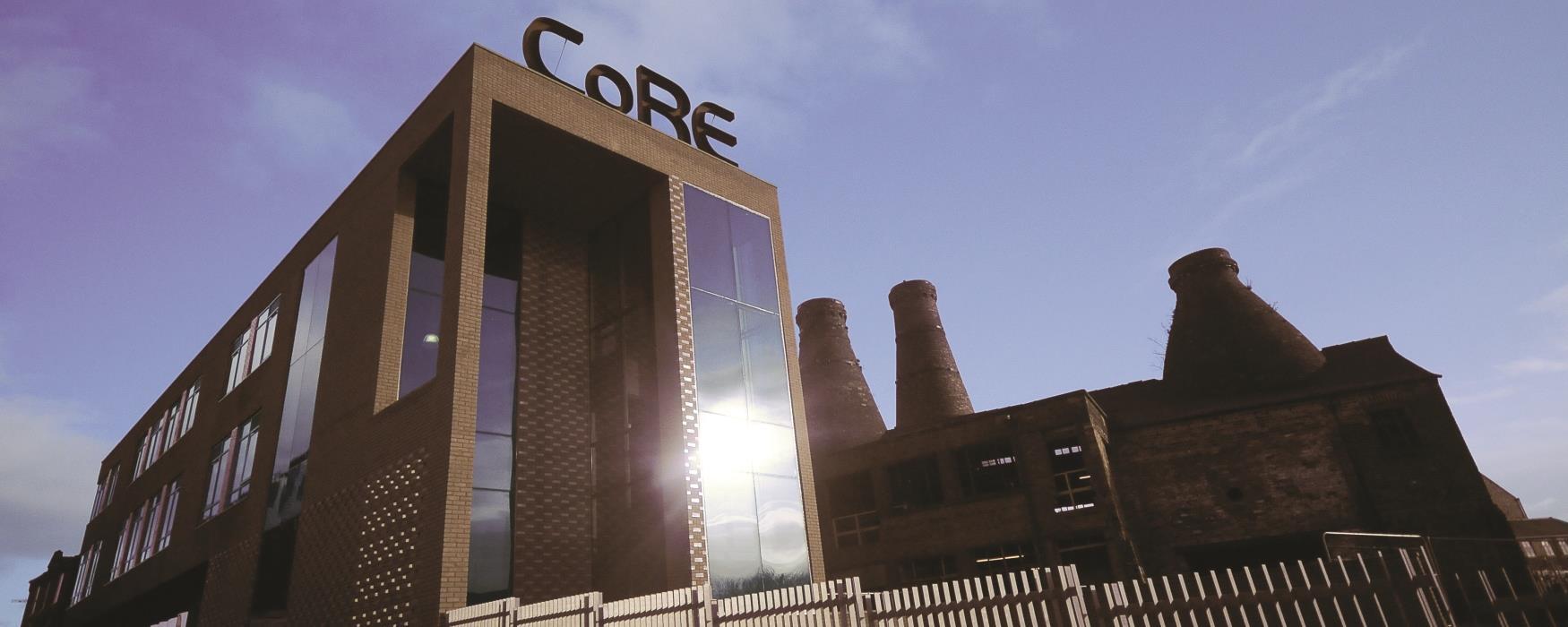 External photo of CoRE Enterprise Centre