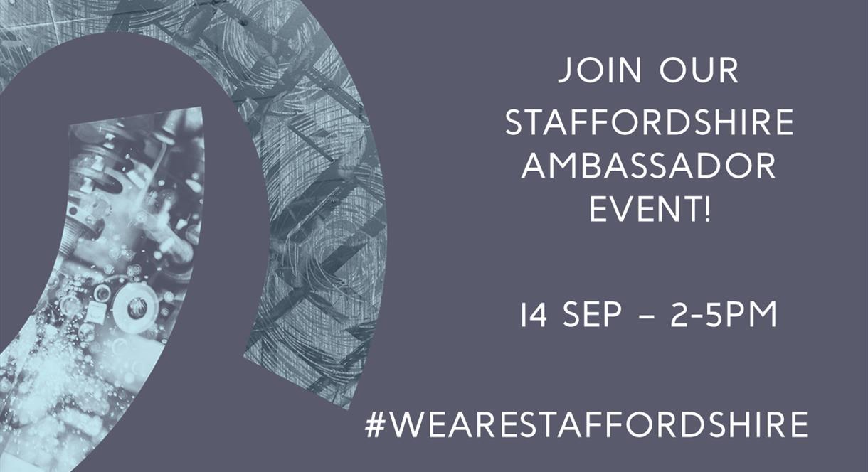 Staffordshire Ambassador Event