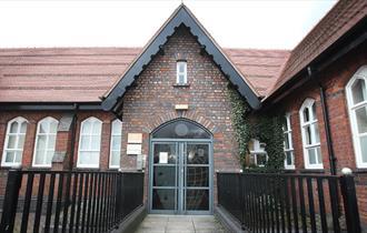 Exterior photograph of St John's House, Longton