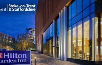 Exterior of Hilton Garden Inn Stoke-on-Trent