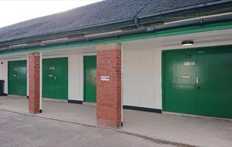 Exterior of workshops