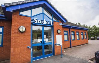 External photograph of Studio1 at Silverdale Enterprise Centre
