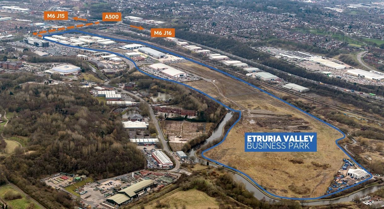 St Modwen Park Stoke Central (Etruria Valley) - CVEZ