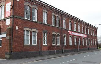 External photograph of Shelton Enterprise Centre