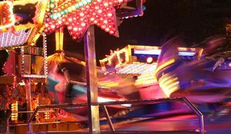 Fun Fair at Torquay, Anderton and Rowlands Fun Fair, Torquay, Devon