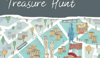 Graphic depicting a section of the Princesshay treasure hunt map