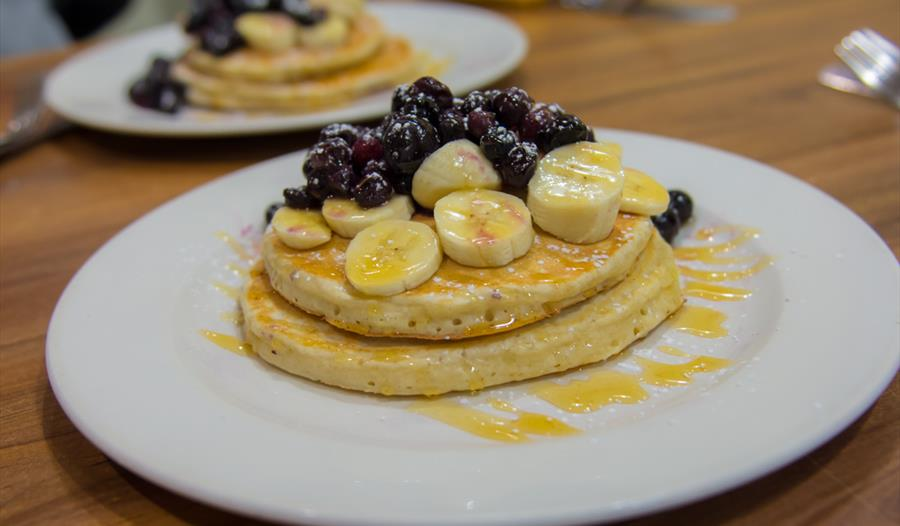 Pancakes on the Family Foodie Walking Tour