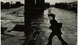 Don McCullin image person in the street