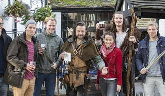 Robin Hood Town Tour and lunch at Ye Olde Trip to Jerusalem, Nottingham