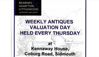 Antique Valuations with Bearnes, Hampton & Littlewood at Kennaway House