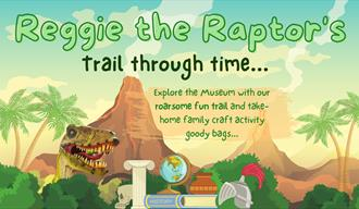 Reggie the Raptor's Trail through time