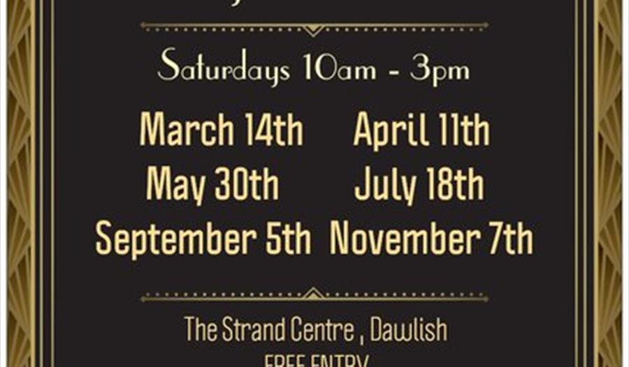 Dawlish Vintage and Antiques Fair