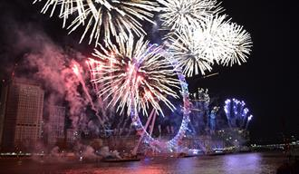Galaxy New Year's Eve Cruise with City Cruises