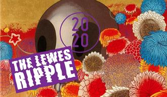 The Lewes Ripple psychedelic design