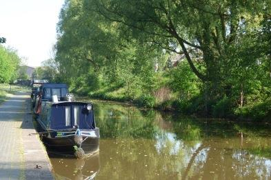Trent & Mersey Canal in Stoke-on-Trent
